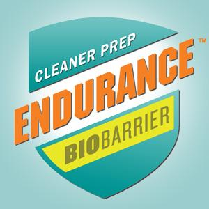 Logo Endurance BioBarrier Mold and Grime Cleaner Prep 300dpi Aqua Background