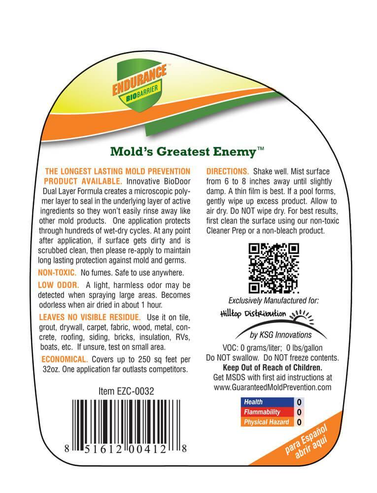 Buy Mold Prevention Spray 32oz Guaranteed Mold Prevention