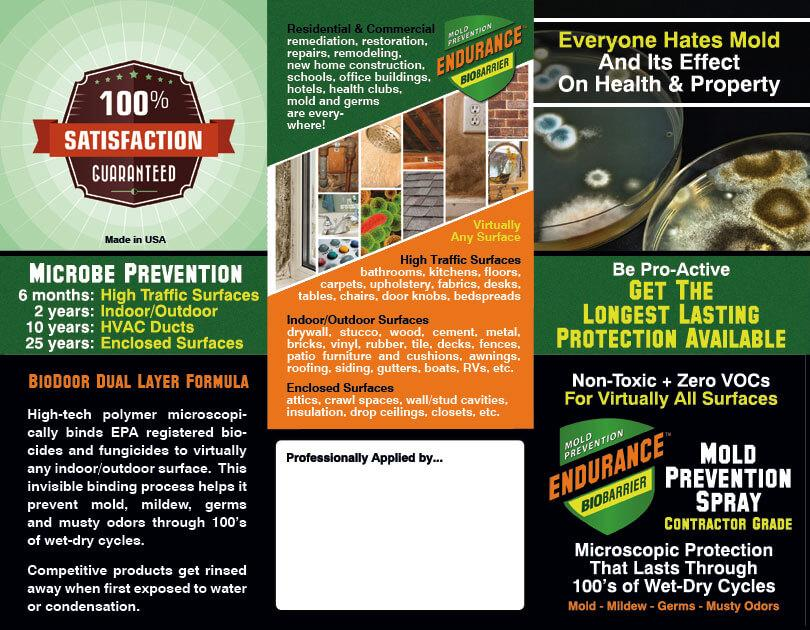 Marketing Files For Mold Product Distributors And Applicators