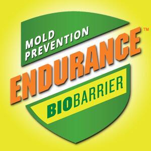 Logo Endurance BioBarrier Mold Prevention Spray 300dpi Yellow Background