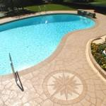 Pool Deck Protected from Mold
