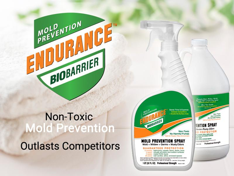 Endurance Bio Barrier Mold Prevention Spray